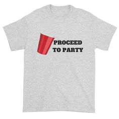 PROCEED TO PARTY - Short sleeve t-shirt