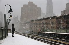 New York in the snow |Cristophe Jacrot | The Passenger #photography #snow #new york