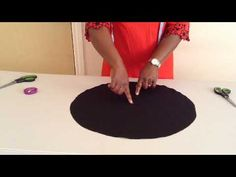 How to Make Circular Sleeve Sewing Basics, Sewing Hacks, Sewing Tutorials, Sewing Projects, Sewing Patterns, Sewing Clothes, Diy Clothes, Lines For Girls, Girl Dress Patterns