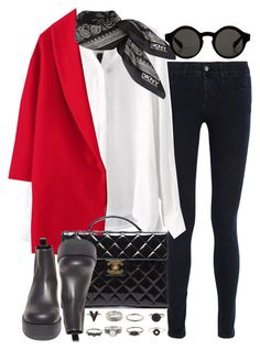 """""""Untitled #3349"""" by hellomissapple on Polyvore featuring STELLA McCARTNEY, DKNY, Monki, Steve Madden and Chanel"""