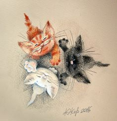 Просмотреть иллюстрацию Хвостики попрошайки из сообщества русскоязычных художников автора Корякина Юлия в стилях: Детский, нарисованная техниками: Карандаш.