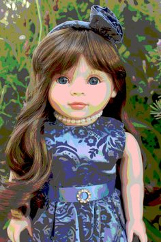 "Digital Art photo. Harmony Club Dolls 18"" Dolls www.harmonyclubdolls.com"