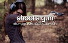 I've shot a gun lots of times and I did not look like the girl in this picture.