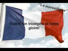 La Marseillaise - all the verses. Learn A New Language, Second Language, French Language, French National Anthem, Pray For Paris, French Classroom, Spanish English, French Immersion, French Revolution