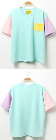 Cute shirt for next outdoor party. Love the pantone color just like the summer. So sweet!