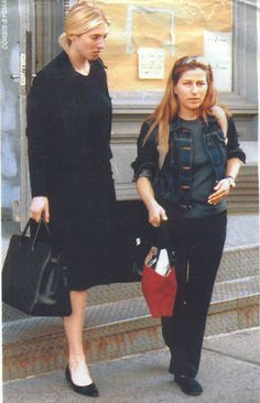 Carolyn Bessette Kennedy and her sister Lauren Bessette. Both brilliant women who died way too soon.