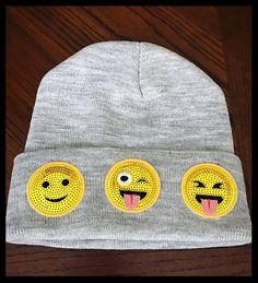 My 💐Emoji Winter Hat💐 by . Size  for $$5.00: http://www.vinted.com/accessories/warm-hats/24557952-emoji-winter-hat.