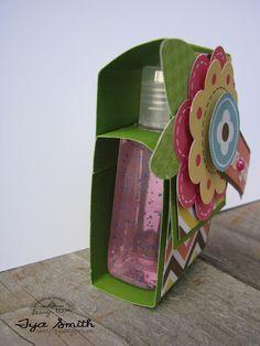 Doodlebug Design Inc Blog: Tuesday Tutorial: Mother's Day Hand Sanitizer Gift