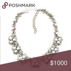 """Grace Anne Statement Necklace This is an around stone statement necklace. It displays a beautiful uniqueness that is eye catching. Length: 16"""", Extender: 2"""" 100% Authentic. Jewelry Necklaces"""