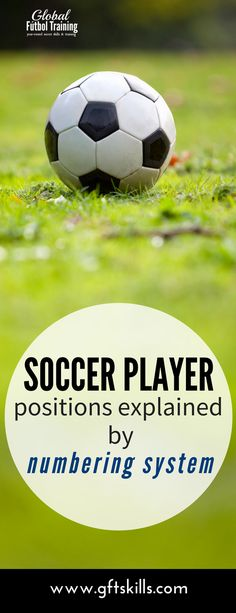 football soccer player position explained by numbering system Soccer Workouts, Soccer Drills, Soccer Coaching, Soccer Training, Soccer Players, College Soccer, Us Soccer, Play Soccer, Football Soccer