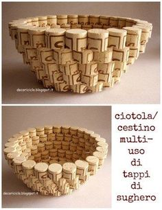 Paper Crafts To Sell Hobbies - Christmas Crafts Painting Wood - Fun Crafts For Kids Videos - Easter Paper Crafts Videos Wine Craft, Wine Cork Crafts, Wine Bottle Crafts, Crafts For Teens, Diy Crafts To Sell, Easy Crafts, Easy Diy, Wine Cork Art, Wine Cork Table