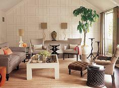 Superb dekoideen wohnzimmer wandbilder wei e w nde rote teppiche
