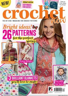 "Find magazines, catalogs and publications about ""simply crochet magazine"", and discover more great content on issuu. Knitting Books, Crochet Books, Loom Knitting, Free Knitting, Crochet Diagram, Crochet Chart, Crochet Stitches, Crochet Fall, Love Crochet"