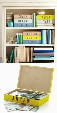 The 11 Best DIY Memory Box Ideas Not only are memory boxes are a great way to preserve your most cherished memories, but a great way to display them. From shadow box frames to upcycled books here are The 11 Best DIY Memory Box Ideas. Diy Instagram, Do It Yourself Inspiration, Style Inspiration, Travel Inspiration, Diy Casa, Ideias Diy, Travel Memories, Memories Box, Vacation Memories