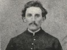 James William Boyd was a Confederate States of America military officer who was alleged in a conspiracy theory to have been killed in the place of John Wilkes Booth, the assassin of President Abraham Lincoln. Mystery Of History, Us History, Family History, American Civil War, American History, Lincoln Assassination, Confederate States Of America, Military Officer, War Image