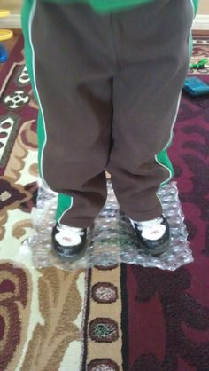 Notes from a Pediatric Occupational Therapist: toe walking