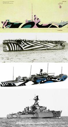 Camouflage: Razzle Dazzle boats
