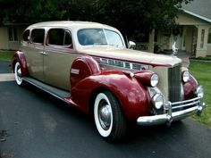 """doyoulikevintage: This elegant  """"Packard classic would be the car to own for those who could afford a chouffer.  Just update all the wireing, suspension for the perfect car.  """""""