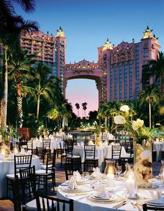 Make your next event at Atlantis LEGENDARY! Customize your event/wedding space to fit your personality! Plan your next celebration at Atlantis Resort in the Bahamas.