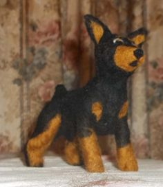 Felt MinPin from KathysCraftShop on Etsy