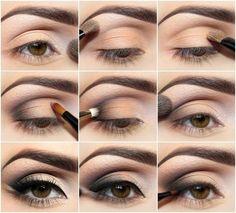 eye makeup tutorials for hazel eyes