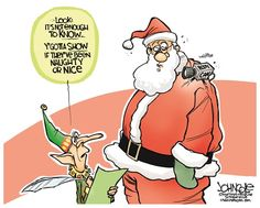 Santa camera ***  There are 2 words -- just 2 words -- that Obama, Congress and Corporate America hope you'll never realize. Watch this video ad and discover what they are…  http://patriotproducts.org/go/just-2-words/  ***   Posted on December 5, 2014, 10:00 pm from http://www.cagle.com/2014/12/santa-camera/