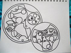 """Have a little Superwho """"Saving people, hunting things. The family business"""" In circular Gallifreyan Have a little Superwho Saving people, hunting things. The family business In circular Gallifreyan Circular Gallifreyan, Through Time And Space, Nerd Humor, Time Lords, Blue Box, Superwholock, Mad Men, Doctor Who, Supernatural"""