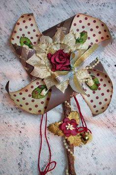 Christmas pinwheel