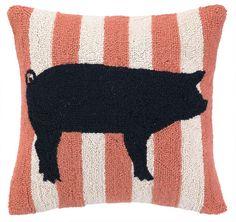 Pig hook pillow