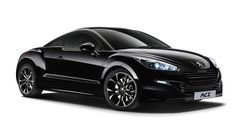 Black peugeot rcz magnetic limited edition