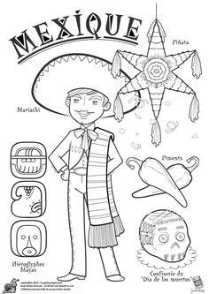 Countries Features and Cultures Coloring Pages - Preschool Activities . Colouring Pages, Adult Coloring Pages, Coloring Books, Around The World Theme, Kids Around The World, Harmony Day, World Thinking Day, World Geography, World Crafts