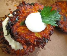 Farmhouse Carrot Fritters Recipe from Whisked Foodie | Whisk up something delicious.