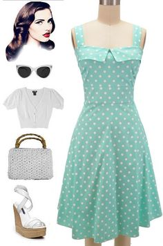 Brand New Color of our Peggy Sue Sun Dress in stock at Le Bomb Shop! Big Dot Polka Dot print on Mint! Perfect for Spring! Available in Plus Sizes only, $37 each with FREE U.S. s/h! Buy it and 17 other colors here at Le Bomb Shop: http://lebombshop.net/search?type=product&q=%22peggy+sue%22&search-button.x=0&search-button.y=0