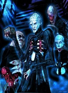 Pinhead and cenobites!