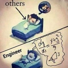 How others sleep Vs How Geologists sleep! Engineering Quotes, Engineering Science, Mechanical Engineering, Electrical Engineering, Civil Engineering, Industrial Engineering, Funny Cartoon Memes, Funny School Memes, Funny Facts