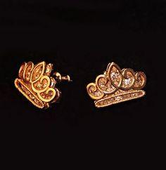 Double Layer Crown Rhinestone Earrings | LilyFair Jewelry, $15.99!