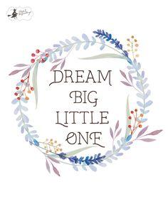 miniPlakaty / miniPosters - - Say hello to your creativity Big Little, Say Hello, Dream Big, Creative, Stencils