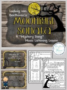 MYSTERY SONG MUSIC LISTENING: BUNDLE #3 - TeachersPayTeachers.com