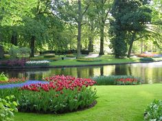 Tour the famous Keukenhof Gardens with the largest display of flowers in the world.