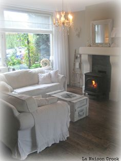 shabby chic country living room / brocante landelijke woonkamer