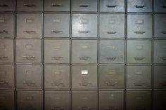 Vintage Shaw Walker Stackable File Cabinets. $135.00, via Etsy.
