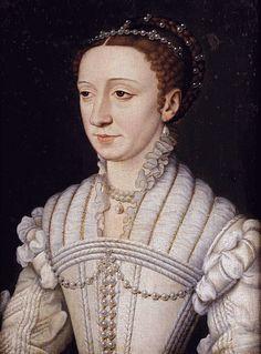 Marguerite de Valois,studio of Clouet
