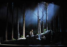 Into The Woods at the Théâtre du Châtelet. Set design by Alex Eales. (c) Marie-Noëlle Robert