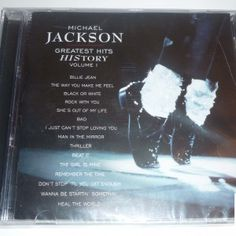 Collector of the day: Michael Jackson – Greatest Hits HIStory Volume I CD (South Africa)  http://www.king-of-shop.com/product/michael-jackson-greatest-hits-history-volume-i-cd-south-africa/