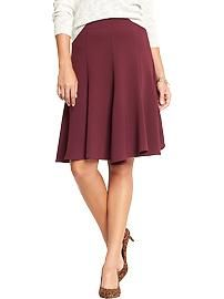 Women's Fluted Crepe Skirts - Old Navy $17