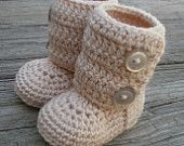 Infant winter boots by fromtheheart3 on Etsy