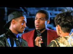 Strictly Business, released in 1991, is a comedy film directed by Kevin Hooks, and starring Tommy Davidson, Joseph C. Phillips, and Halle Berry. The supporting cast includes Anne-Marie Johnson, David Marshall Grant, Jon Cypher, and Samuel L. Jackson. The film follows the ways of a mail clerk as he tries to hook his executive friend up with his clubbing girl pal. It plays on comedy, business, romance, and ethics.