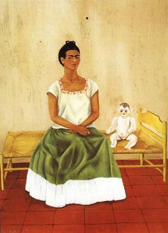 Me and My Doll – Frida Kahlo 1937