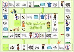 """Ideenreise: Spielfeld """"Fußball"""" für DaZ"""
