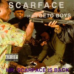 Scarface Is Back - The 50 Best Hip-Hop Album Covers Rap Album Covers, Greatest Album Covers, Greatest Albums, Good Girl Gone Bad, Classic Hip Hop Albums, Southern Hip Hop, Best Rap Album, Chopped And Screwed, 1990s Hip Hop